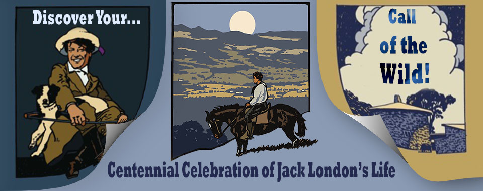 Jack London Centennial Banner